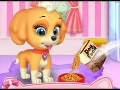 My Cute Little Pet - Kids Learn to Care Cute Little Puppy - Android Game...