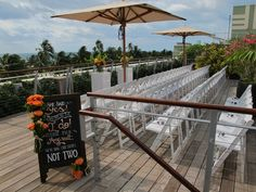 Wedding Reception In The Atrium Of Betsy Hotel South Beach Dinner Under Stars Miami Event Ideas Pinterest Weddings And