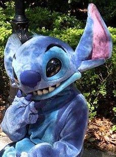 Stitch, from Disney's Lilo & Stitch, at Epcot / Disney World