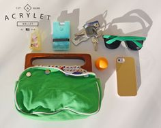 The Acrylet™ is versitile Minimalist Wallet, Problem Solving, Projects, Bags, Accessories, Minimal Wallet, Handbags, Dime Bags, Totes