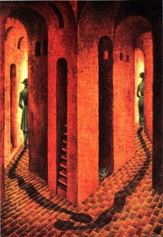 Remedios Varo - Surreal Goddess of Psychedelic Art - Third Monk