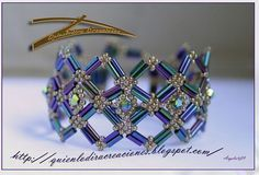 Pattern of awesome bracelet Paris created by Angeles_09