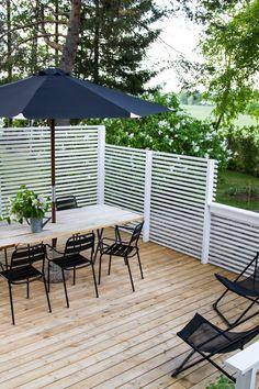 New deck, new terrace. Terrace Design, Patio Design, Pergola Patio, Backyard Patio, Outdoor Spaces, Outdoor Living, Outdoor Decor, Small Space Interior Design, Outdoor Restaurant