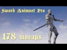 Sword Animset Pro UE4 animation set - YouTube