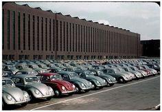 Planta de Wolfsburg. VW typ 113. Fines década de 1950