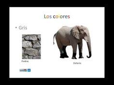 Los colores + vocabulario