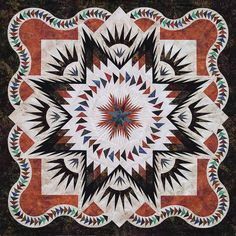 Glacier Star-Time Treasured Quilts