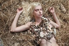 A swan's summer fantasy  Summer jewellery by Pericles Kondylatos Photos: George-Kwnstantinos Malekakis  Model: Diana Chemeris  Make –up: Morfe A.Meni