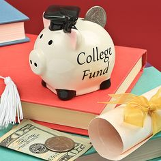 This College Fund piggy bank helps shoppers contribute to the grad's celebration Here's a Gifts by Fashioncraft item that you - and your customers - can really bank on! It's destined to be a grad gift favorite for any age and its adorable graduation theme$2.24College Fund Piggy Bank Baby Shower Favors,12606Baby Themes