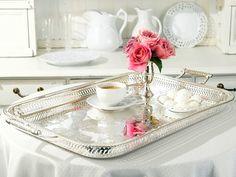 Rothschild Silver Tray @Layla Grayce #laylagrace #entertaining