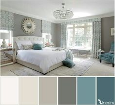 7 Ways to Use Duck Egg Blue to Spruce Up Your Living Room Decor is part of Master bedrooms decor - One of the most elegant colors is duck egg blue, and today we're showing you 7 easy ways to use it that will make your living room decor look like a million Bedroom Color Schemes, Bedroom Colors, Colors For Bedrooms, Paint Schemes, Home Bedroom, Bedroom Decor, Bedroom Ideas, Bedroom Furniture, Furniture Dolly