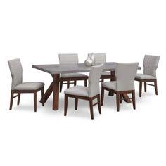 [Mercer II 7 Pc. Dining Room]