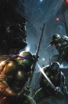 cartoons icons redskullspage: TMNT by Francesco Mattina Tmnt Comics, Arte Dc Comics, Ninja Turtles Art, Teenage Mutant Ninja Turtles, Comic Books Art, Comic Art, Tmnt Wallpaper, Martial, Ninga Turtles