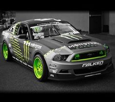 Vaughn Gittin Jr's 2012 FD RTR Ford Mustang. The liveries for the 2013/14 season look way more bad ass. ;)