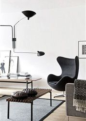 Ingetogen chic: zwart-wit interieur - Residence