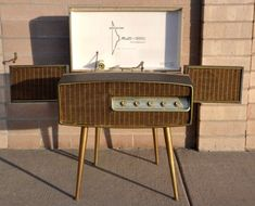Phonola Multi Channel Stereophonic 2562 Record Player