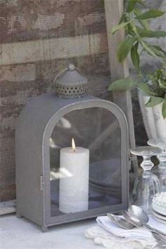 Candle Lanterns, Candle Sconces, Candles, Vintage Shabby Chic, French Vintage, Interior Lighting, Light Up, Candle Holders, Wall Lights