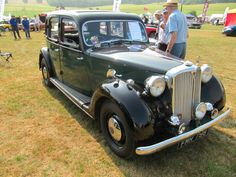 Rover P3 75, 1948 at Sherborne Castle classic car show