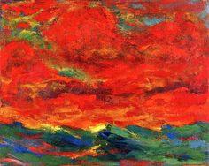 Emil Nolde | Sky and Sea, 1930