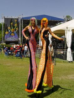 Wanee Festival Stilt Walkers by Sixth Star Entertainment, via Flickr