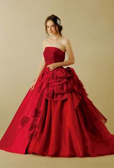 Red Wedding Dress ~
