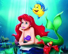 """La Sirenetta  """"Non capisco come un mondo che crea delle cose tanto meravigliose possa essere cattivo"""""""