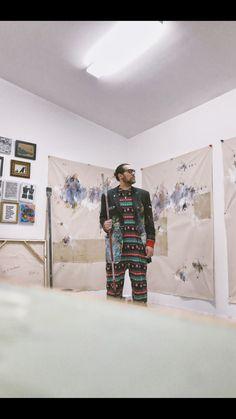 Art pajamas  #art #abstract #artstudio #artistspace #createart #artwork #markmaking #contemporary #artistsoninstagram #artist