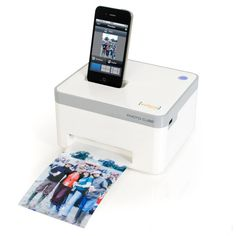 We love sharing our pictures on social media sites, but Grandma always wants a hard copy! We found a way to make everyone happy with this photo cube smartphone printer.