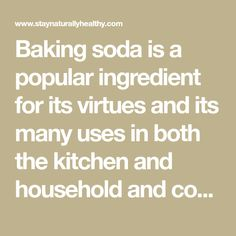 Baking soda is a popular ingredient for its virtues and its many uses in both the kitchen and household and cosmetic treatments. But do you know that it can also be consumed? In fact, drinking a solution of water and baking soda has an alkalizing effect on your body and gives you a multitude of …