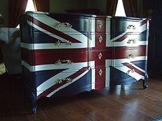 Waving Union Jack Dressers / Buffets by Artisan8