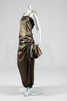 Dress    Paul Poiret, 1922    Kerry Taylor Auction