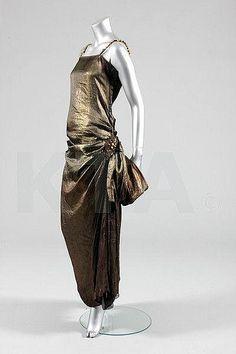A Paul Poiret orientalist dress, circa 1922, Kerry Taylor Auctions