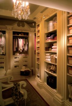 CLIVE CHRISTIAN OF NOTTINGHAM: Clive Christian Luxury Dressing Room Furniture