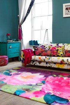 Inspirações para montar uma casa colorida