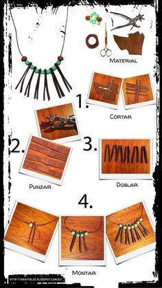 DIY Collar de cuero