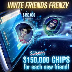 👭 Invite Friends Frenzy 👬  Poker is best with friends! Invite your FB friends to play WSOP and get 150K for each new friend!  Friendship Chips ▶ https://wsopga.me/yMWm7 #ElectronicsStore