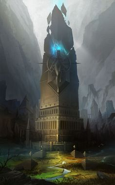 ArtStation - Tower of the goddess, minkyu park(wizboy)