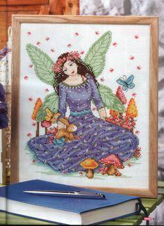 Spring Fairy - 1/3 PUNTADITAS (pág. 38) | Aprender manualidades es facilisimo.com