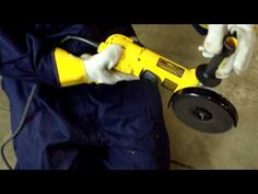 This video introduces the viewer to some of the basic safety tips involved in using angle grinders around aboveground storage tanks including correct Persona. Safety Training, Training Videos, Construction Tools, Angle Grinder, Safety Videos, Outdoor Power Equipment, Buildings, Youtube, Diy
