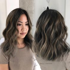 """Rachelle Che Mariano on Instagram: """"Loving how everyone is getting more comfortable to trying shorter haircuts!  . . out with the ombré in with the balayage! Soft and subtle ❤️"""""""
