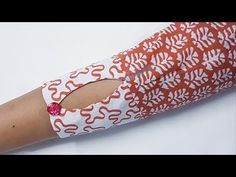 How to make a sleeves How to make a perfect sleeves Beautiful and attractive sleeves design stitching easy way in hindi by . Churidhar Neck Designs, Neck Designs For Suits, Fancy Blouse Designs, Blouse Neck Designs, Hand Designs, Kurti Sleeves Design, Sleeves Designs For Dresses, Kurta Neck Design, Sleeve Designs For Kurtis