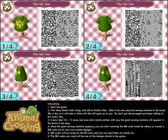 animal crossing link qr patterns - Google Search