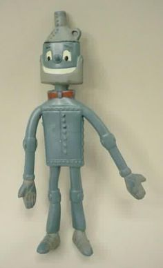 Toy Wizard of Oz TINMAN bendy. (1960's)