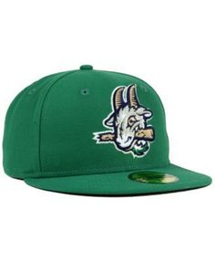 1643de67a34 New Era Hartford Yard Goats Ac 59FIFTY Fitted Cap - Green 7 1 8 Fitted