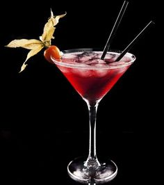 Raspberry Kamikaze cocktail