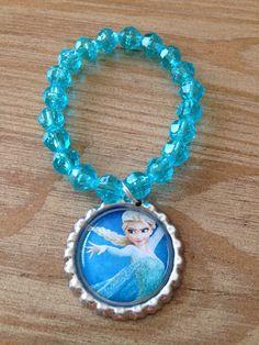 Frozen party favor bracelet.. Frozen bracelet.. by GirlzNGlitter