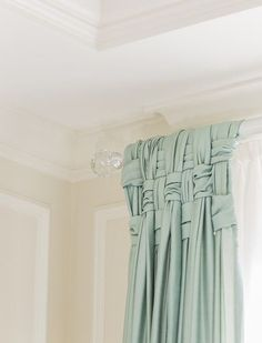 DIY drapes and curtains dining room