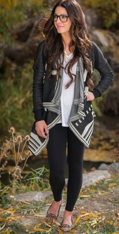 Aztec Sweater Cardigan | SexyModest Boutique