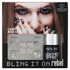 """""""Bling it on"""" Kit - Kit de vernis à ongles de nails inc. sur Sephora.fr Parfumerie en ligne"""