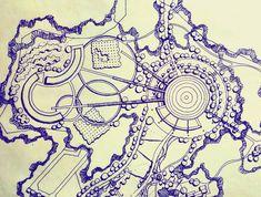34 Ideas apartment architecture masterplan for 2019 Landscape Architecture Drawing, Landscape Sketch, Landscape Concept, Landscape Drawings, Landscape Plans, Landscape Design, Site Development Plan, Resort Plan, St Just